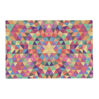 Triangle mandala 1 placemat