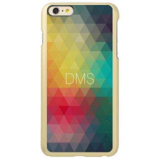 Triangle Monogram Incipio Feather® Shine iPhone 6 Plus Case