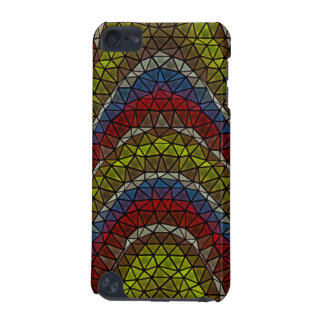 Triangle mosaic pattern iPod touch (5th generation) cover