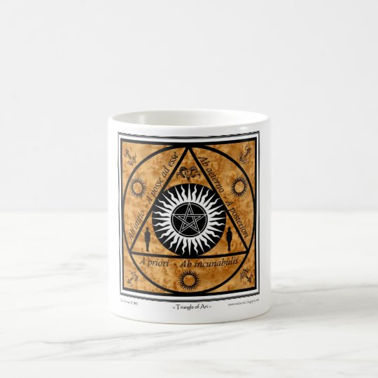 Triangle of Art #2 Coffee Mug