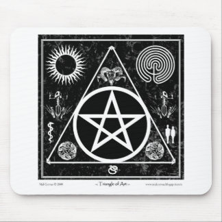 Triangle of Art #2 Mouse Pad