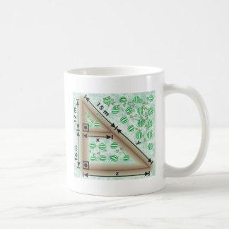 Triangle of irrigation mugs