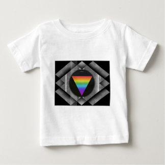 Triangle On Black T-shirt