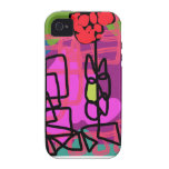 Triangle Park Vibe iPhone 4 Cover