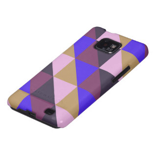 Triangle pastel quilt pattern n° 23 galaxy s2 covers