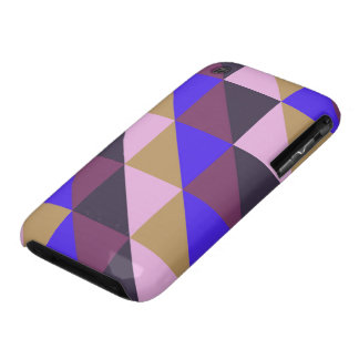 Triangle pastel quilt pattern n° 23 iPhone 3 Case-Mate cases