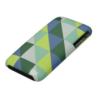Triangle pastel quilt pattern n° 47 Case-Mate iPhone 3 cases