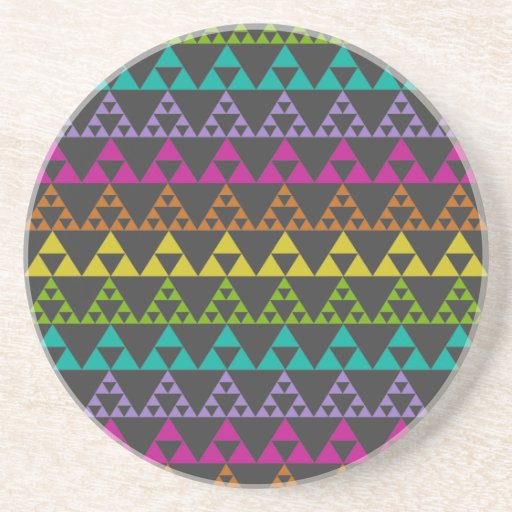 Triangle Pattern Beverage Coaster