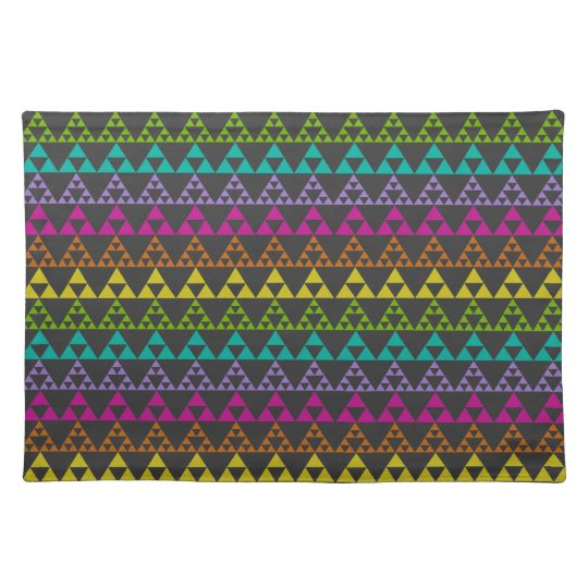 Triangle Pattern Cloth Placemat