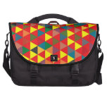 Triangle Pattern Commuter Bag