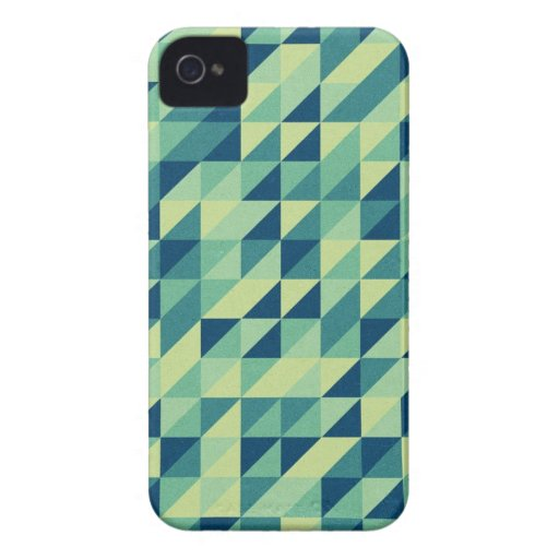 Triangle Pattern iPhone 4 Case