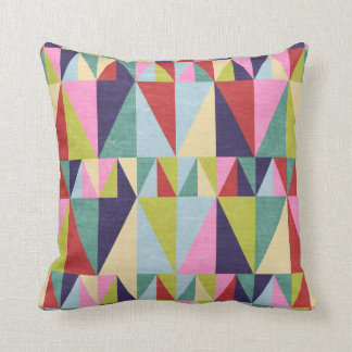 Triangle Pop Art Pillow