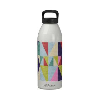 Triangle Pop Art Water Bottle
