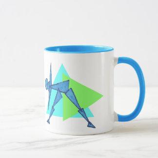 Triangle Pose - Yoga Coffee Mug