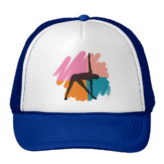 Triangle Pose Yoga Gift Trucker Hat