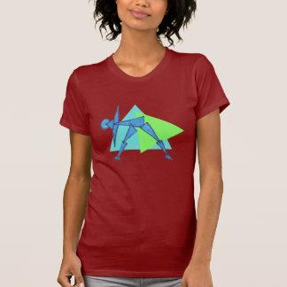 Triangle Pose - Yoga T-Shirts