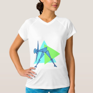 Triangle Pose - Yoga Workout Clothes for Women Shirt