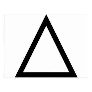 Triangle Postcard