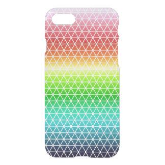 Triangle Rainbow Geometric Framework Tessellation iPhone 8/7 Case