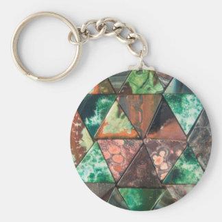 Triangle Rocks Keychain