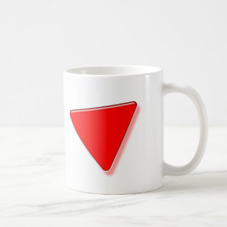 TRIANGLE ROUGE COFFEE MUG