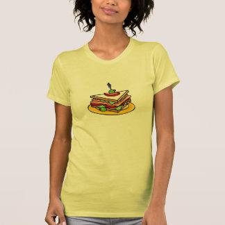 Triangle Sandwich Womens T-Shirt