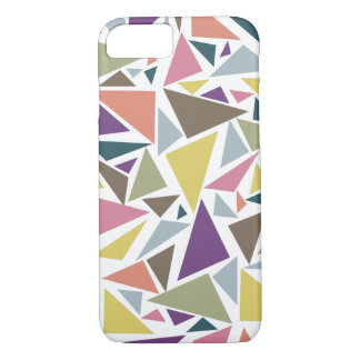 Triangle Scatter iPhone 7 Case