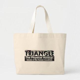 TRIANGLE Screen Grid Tote Bag