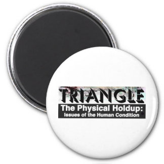 TRIANGLE Screen Grid 2 Inch Round Magnet