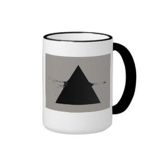 triangle shot mug