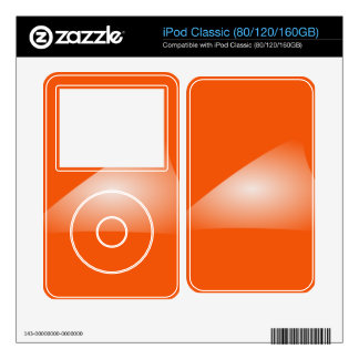 Triangle iPod Classic Decals