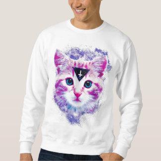 Triangle Space Kitten Sweatshirt
