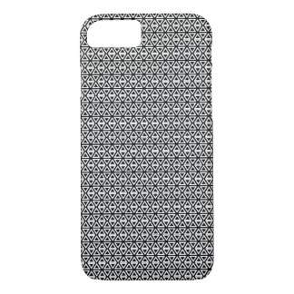 Triangle tiles black and white iPhone 8/7 case