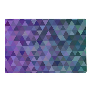 Triangle tiles placemat