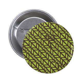 Triangle Tire Track pattern Button