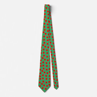 triangle watermelons tie