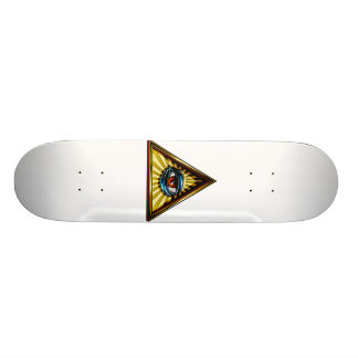 Triangle with eye Eye of Providence Skateboard Deck