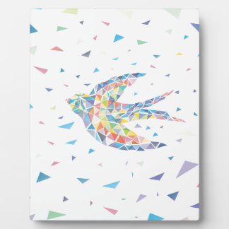 Triangled Swallow Photo Plaque