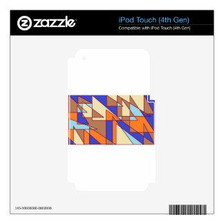 triangles2.jpg iPod touch 4G calcomanía