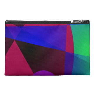 Triangles and Circles Travel Accessories Bags