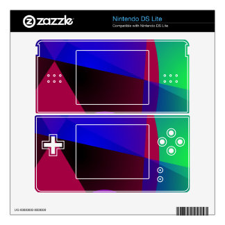 Triangles and Circles Decals For DS Lite