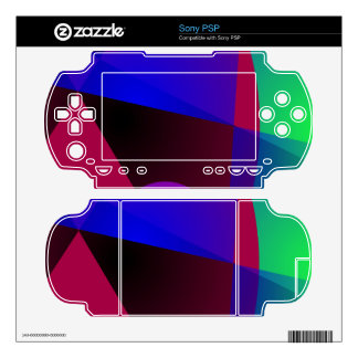 Triangles and Circles Skin For PSP