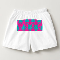 Triangles and honeycombs pattern boxers