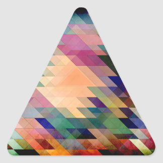 Triangles And Parallelograms Triangle Sticker
