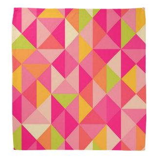 Triangles geometrical pattern head kerchiefs