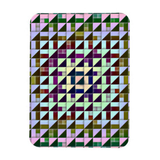 Triangles Inverted Rectangle Magnets