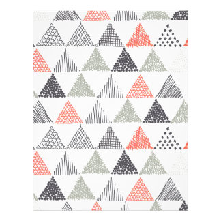 Triangles Letterhead