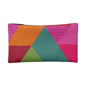 Triangles Makeup Bag