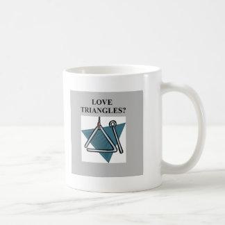 TRIANGLES music joke Coffee Mugs