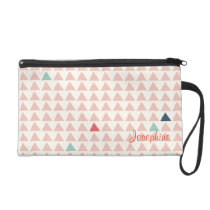 Triangles Pattern 5 Wristlet
